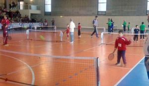 Polisportivo, Prova tennis dolce